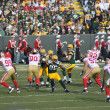 Aaron Rodger of the Green Bay Packers - 图库照片