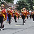 Henry Sibley High School Marching Band Performing in a Parade — Stock Photo #8388217