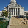 Capitol Building in Madison, Wisconsin - Stock Photo