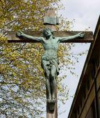 Jesus on the cross — Stock Photo