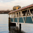 Stock Photo: Disused pier