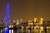 London cityscape at night. — Stock Photo