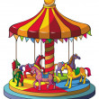 Carousel — Stock Vector #8009447