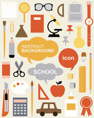 Edit Icon Set - Education — Stock Vector