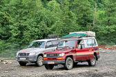 "Expedition ""Germany - Russia"" 2009 — Stock Photo"