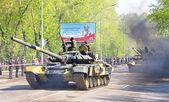 Victory parade 2012 — Stock Photo