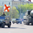 Victory parade 2012 — Stock Photo