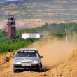 Rally Southern Ural 2007 - Stockfoto