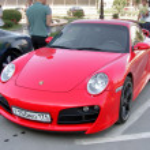 Постер, плакат: Porsche 911