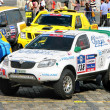 Rally Silkway 2011 - Stock Photo