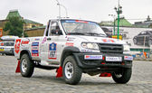 Rally Silkway 2011 — Stock Photo