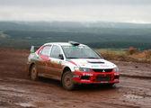 Rally Southern Ural 2009 — Stock Photo