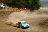 Cross-country buggy race — Fotografia Stock