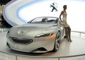 Moskwa międzynarodowych autosalon 2010 — Zdjęcie stockowe