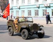 Victory parade 2009 — Stock Photo