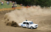 Cross-country buggy race — ストック写真