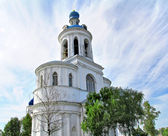 Orthodox bell tower — Stock Photo