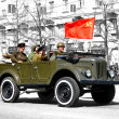 Royalty-Free Stock Photo: Victory Parade 2011