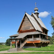 Wooden orthodox church — ストック写真