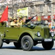 Victory parade 2011 — Stock Photo