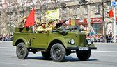 Victory parade 2011 — Stock Photo