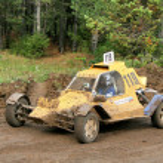 Cross-country buggy race — Stock Photo #9789634