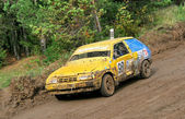 Cross-country buggy racing — Stock Photo