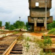 Stock Photo: Deserted railway