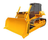 Yellow bulldozer — Fotografia Stock