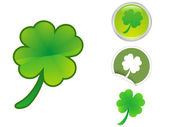Four Leaf Clover icon — Stock Vector