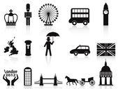 Zestaw ikon londyn — Wektor stockowy