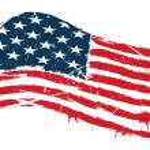 Grunge usa flag — Stock Vector