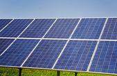 Завод солнечной энергии — Стоковое фото