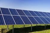 Solar power plant — Stock Photo