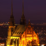 Petrov cathedral in Brno, Czech republic — Stock Photo #8584836