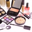 Set of cosmetic makeup products — Stock Photo #9046328