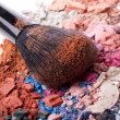 Set of crushed eyeshadows — Stock Photo #9047012