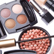 set cosmetische make-up producten — Stockfoto