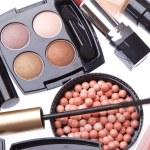 kozmetik makyaj ürünleri kümesi — Stok fotoğraf