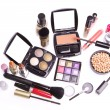 Set of cosmetic makeup products — Stock Photo #9047605