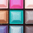 Colorful eyeshadows — Stock Photo #9048789