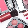 set of cosmetic makeup products — Stock Photo