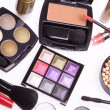 Set of cosmetic makeup products — Stock Photo #9049104