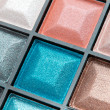 Compact eyeshadows - Stock Photo