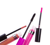 Lip gloss set — Stock Photo
