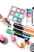 Set of cosmetic products — Stock Photo