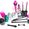 Cosmetic makeup products — Stock Photo