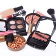 Royalty-Free Stock Photo: Set of cosmetic makeup products