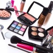 Set of cosmetic makeup products — Stok fotoğraf
