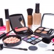 Set of cosmetic makeup products — Stock Photo #9051319